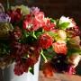 Попугайные тюльпаны. Мастер Олеся Галущенко Botanical sculpture. Материал Супер белая глина.