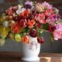 Тюльпаны махровые. Мастер Олеся Галущенко Botanical sculpture. Материал Супер белая глина.