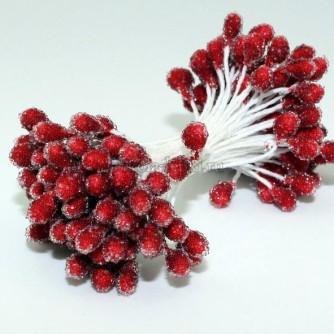 Тычинки «ягодки в сахаре» диаметр 5мм