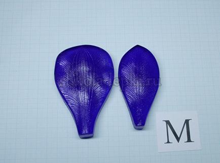 Молд альстромерия лепесток — набор из 2-х молдов