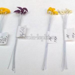 Тычинки для лилии на проволоке 6+1