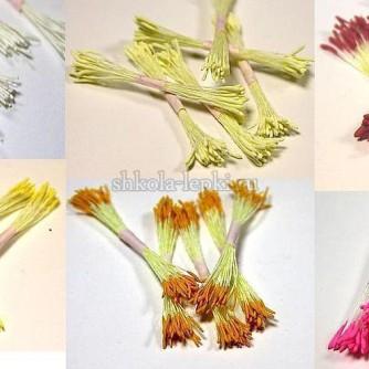 Тычинки тайские с длинной пыльцой Лотос, Пион материалы из Таиланда
