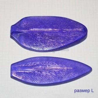 Молд лилия лепестки, размер L, набор из 2-х молдов