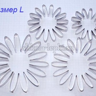 Каттер цветок хризантема,гербера, ромашка лепестки по кругу