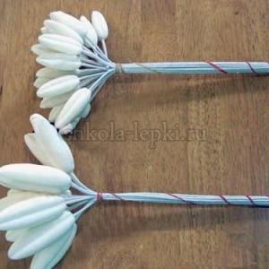 Бутоны для лилии лепные
