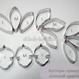 Каттеры №3348 орхидея зеленый цимбидиум