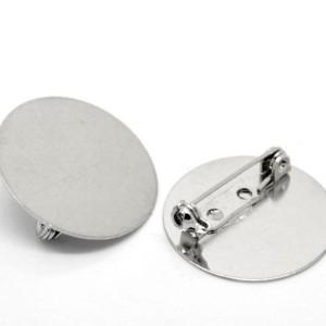 Булавка с плоским диском 25 мм
