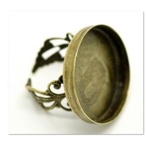 Основа для кольца филигранная «перстень»