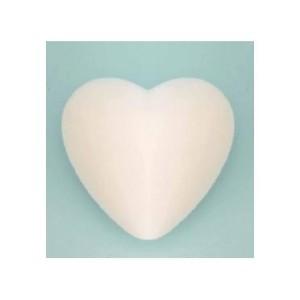 Сердце пенопластовое 9 см поштучно