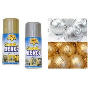 Краска спрей золотая для декора 150 мл
