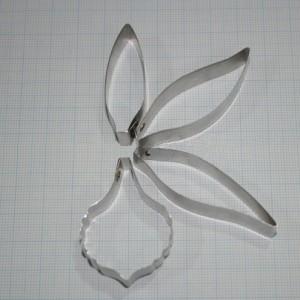 Каттеры орхидея одонтоглоссум, ирис, гладиолус №3385