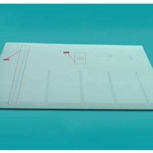Доска пластиковая для жилкования белая