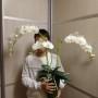 Орхидея фаленопсис из фоамирана Шелковый ЛЮКС, автор Наталья Ломова