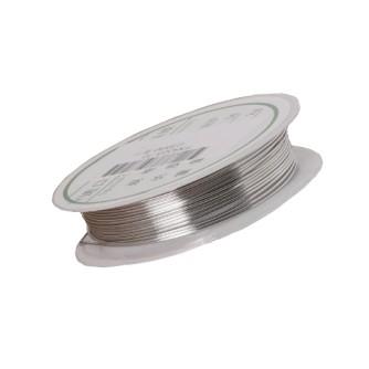 проволока 0,3 катушка цвет серебро медная гибкая