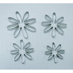 Каттеры 8 лепестков по кругу хризантема, ромашка №3492