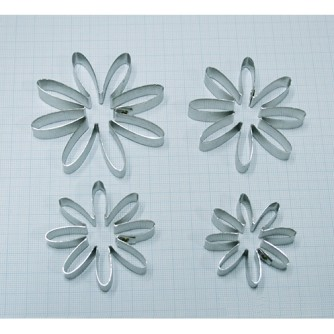 Каттеры хризантема 8 лепестков