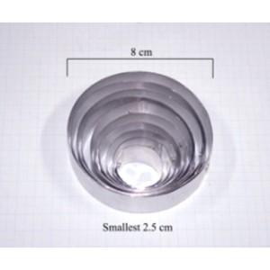 Каттеры круги 10шт универсальный лепесток ранункулюс