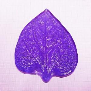 Молд лист подсолнух мини 10х12 см