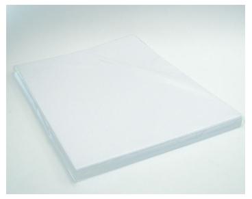 Фоамиран ревелюр ЭВА белый 50х50см 0,6мм