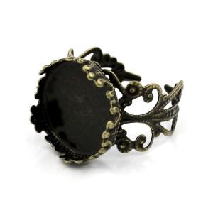 Основа для кольца филигранная «корона»