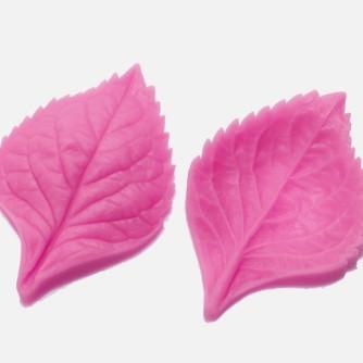 Молд силиконовый гортензия лист