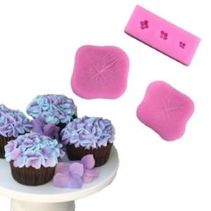 Набор декоративных силиконовых молдов для гортензии