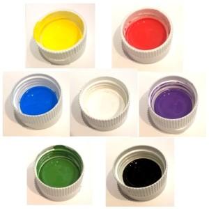 Краска колер акрилово-латексная универсальная матовая 50 мл