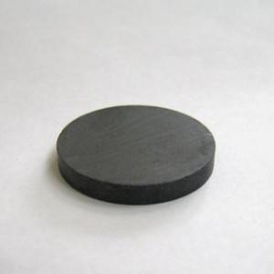 Магнит ферритовый, диск 20 х 3 мм