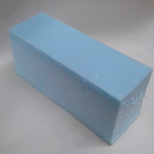 Основа для декора кирпич голубой