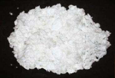 Белый волокнистый порошок для декора 200 мл