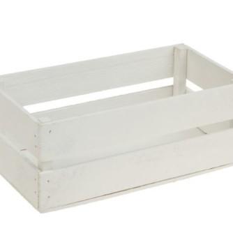 ящик длинный белый