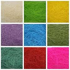 Сизалевое волокно разные цвета