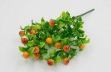 Искусственная зелень с ягодами #74117