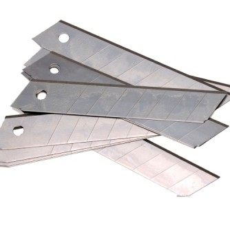 Лезвия для ножа 18мм , набор 10 шт.