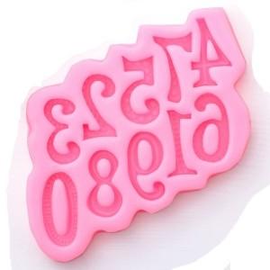 Молд силиконовый «цифры»
