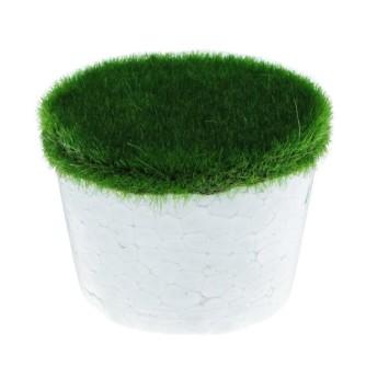 Основа для композиций круглая с декоративным зеленым покрытием