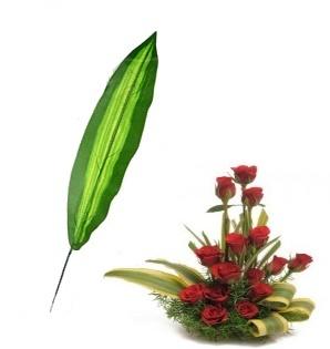 Искусственная зелень тропический лист