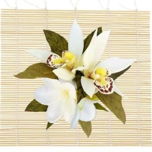 Основа для цветочной композиции (циновка-коврик).