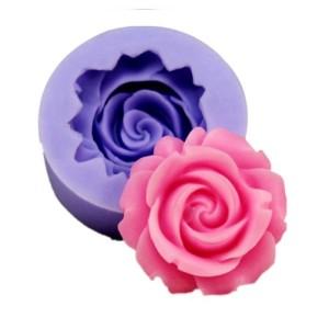 Молд силиконовый роза малая, 3,8 х 3,8 х 1,6 см