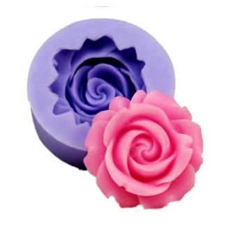 Силиконовый молд цветок розы
