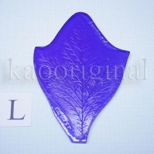 Молд лист пиона декоративный №116 L