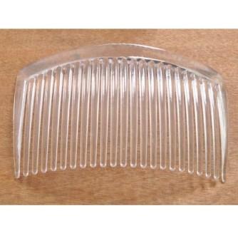 Гребень пластиковый прозрачный 7,5 см