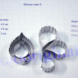 Каттеры гибискус мини S № 3369