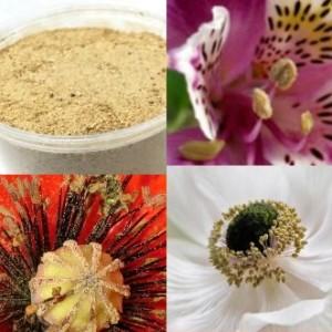 Пыльца-посыпка легкая, цвет «охра»
