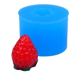 Молд силиконовый ягода земляника луговая с чашелистиками