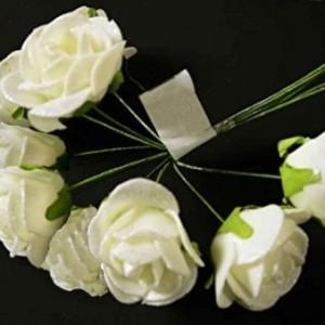 Роза латексная (пучок 10 роз) без сеточки #76066