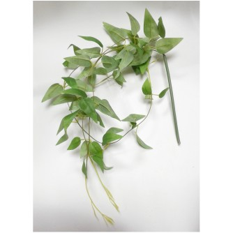 Искусственная зелень Традисканция (куст-пучок, делится на 4 веточки)