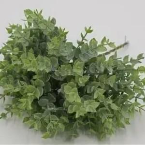 Искусственная зелень целый куст самшита с заостренными листочками #74439