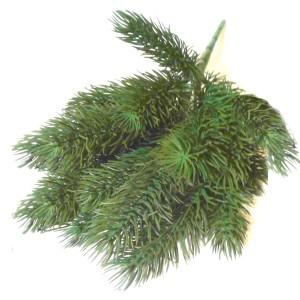 Искусственная зелень ель ветка #74377