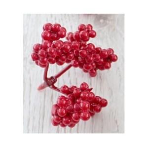 Веточка ягод калины для декора